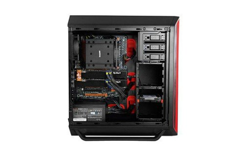 be quiet! SILENT BASE 800 Red Window BGW04