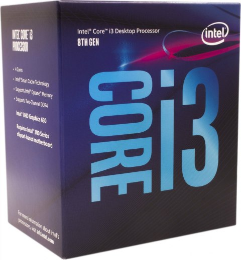 Intel Core i3-8350K, 4GHz, 8MB, BOX (BX80684I38350K)