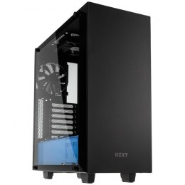 NZXT Elite S340 Window Black-Blue (CA-S340W-B5)