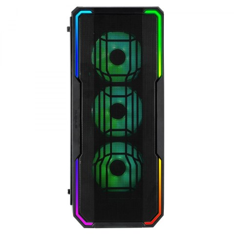 BitFenix Enso Mesh RGB Tempered Glass Black