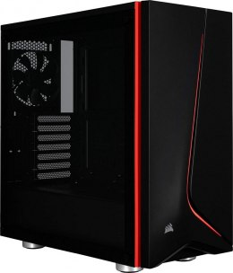 Obudowa Corsair SPEC-06 Tempered Glass Case - Black (CC-9011144-WW)