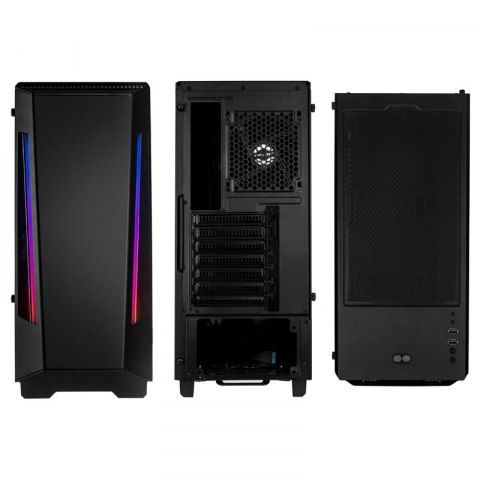 Obudowa Phanteks Eclipse P360X Tempered Glass, DRGB Black